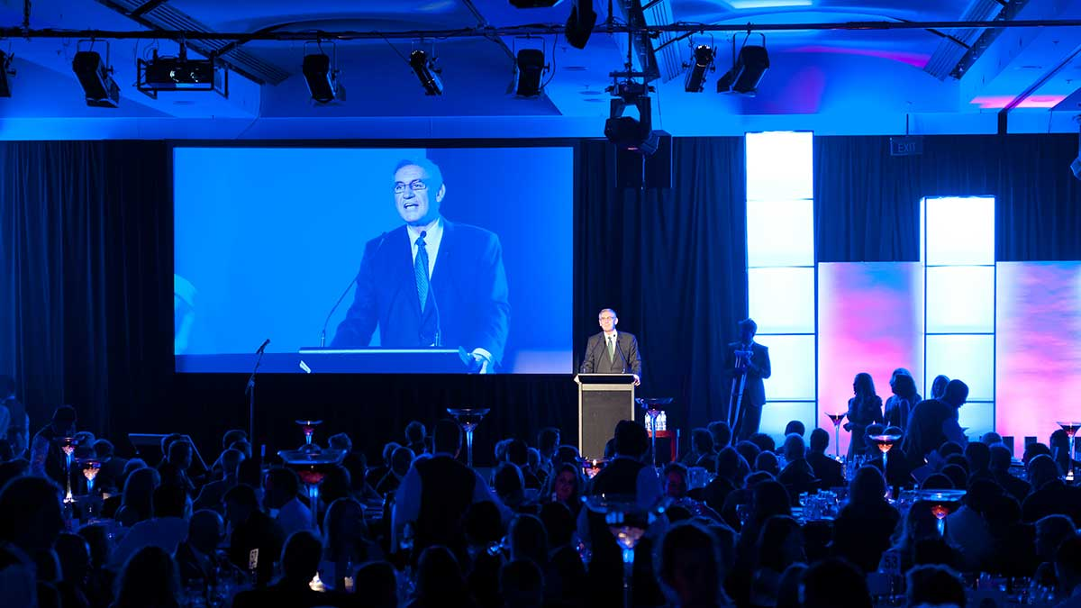 AHA NSW – Awards for Excellence - pillars cool