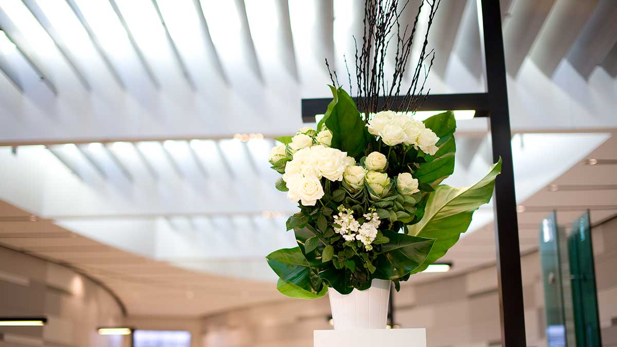 T1 launch – Sydney International Airport - flowers