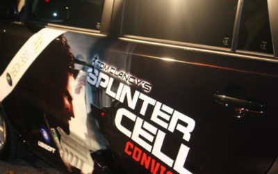 Ubisoft's XBOX Splinter Cell Game Launch