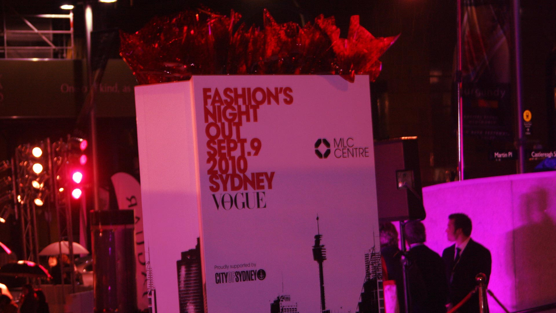 Vogue's Fashion's Night Out - MLC Centre