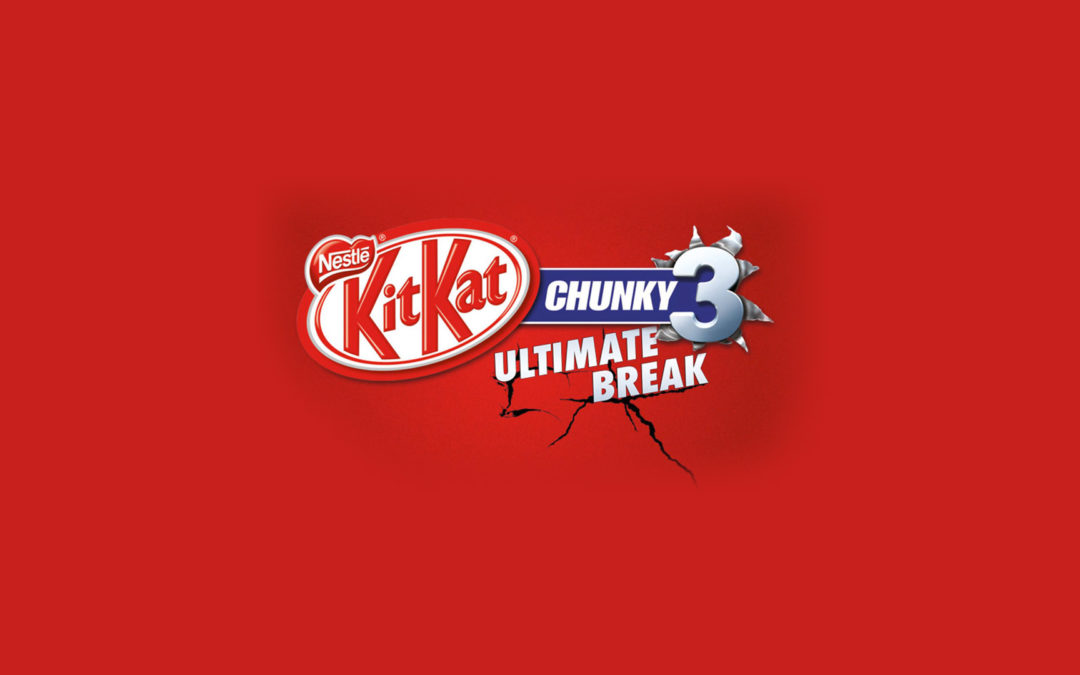 Kit Kat Chunky 'Your Chunk of TV Fame' Campaign
