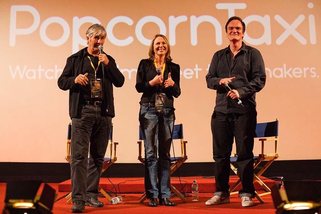 Popcorn Taxi - Dark Age - Tarantino