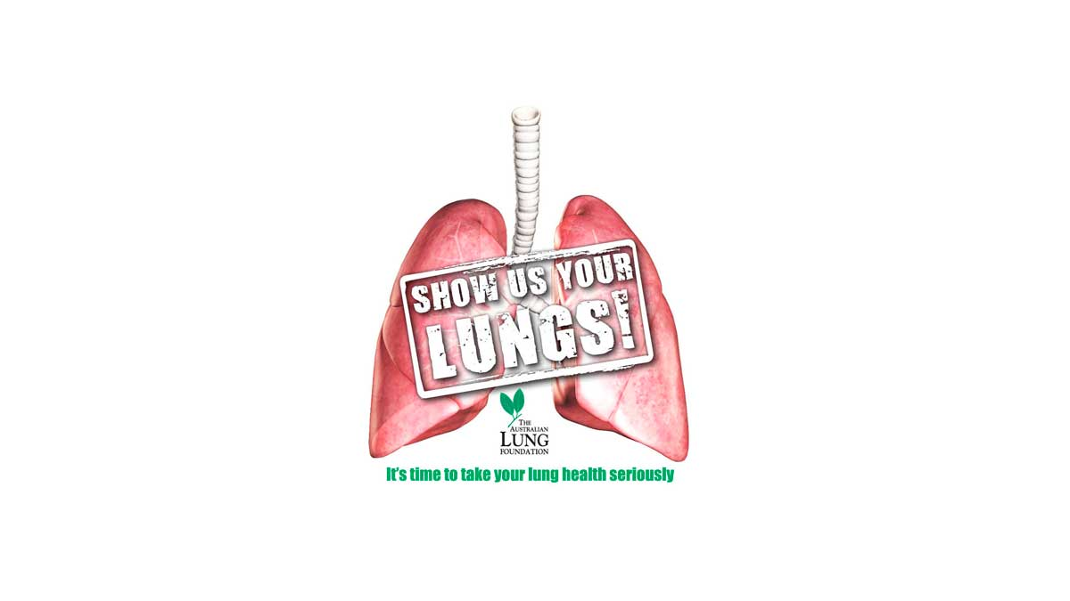 Show Us Your Lungs - logo