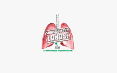 The Lung Foundation 'Show Us Your Lungs' Campaign