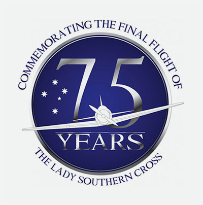 Lady Southern Cross - 75 years logo