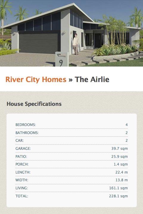 screenshot – Blacks Beach Cove – house info