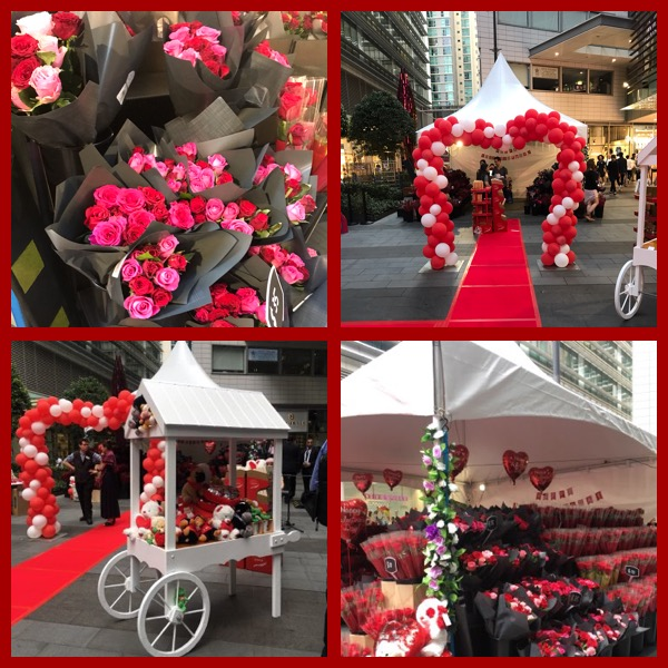 Cole's Valentines Day Pop up Gift Stall