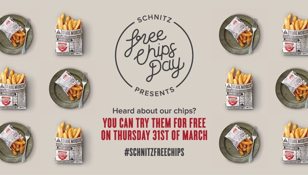 Schnitz 'Free Chip Day' Campaign